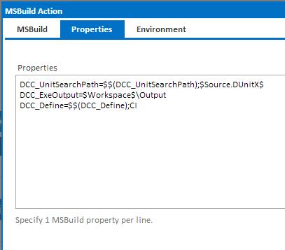 MSBuild Properties