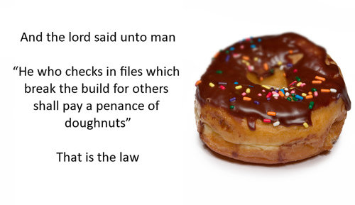 Penance of doughnuts - Jeff Atwood