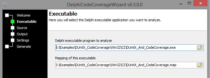 Delphi Code Coverage with Continua CI