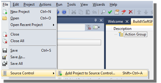 Project Added To Source Control