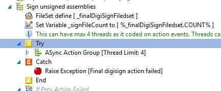 Build script setup